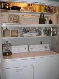 laundry room cozy inexpensive laundry room decor shelving ideas