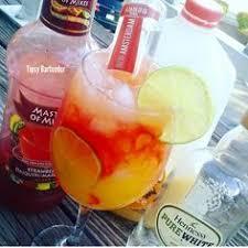 huggie drinks mango pineapple hennessy slush cheers
