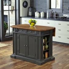 home styles americana grey kitchen island with drop leaf 5013 94