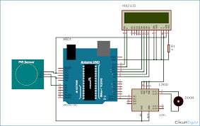 automatic door opener project using pir sensor and arduino