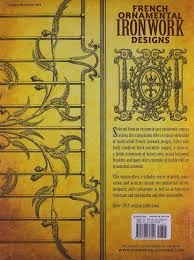 ornamental ironwork designs dover pictorial archive