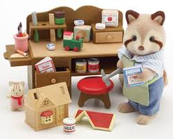 Calico Critters Bathroom Set 64 Best Syvanian Families Images On Pinterest Hall Accessories