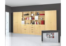 Schlafzimmerschrank Ahorn Büro Kombination Aktenschrank Schrankwand In Ahorn Oder Grau Woody