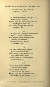 Blind Men And The Elephant Poem Page The Poems Of John Godfrey Saxe Djvu 280 Wikisource The