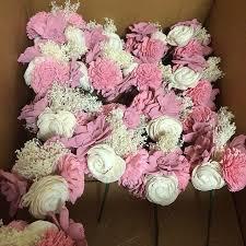 sola flowers dyed sola flower centerpieces weddingbee