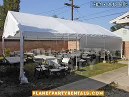 canopy tent rental party tent 20ft x 30ft prices packages