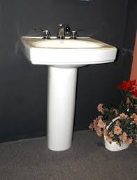 Kohler Bancroft Sink Faucet Kohler Bancroft Pedestal Sink 2315 0 And Kohler Fairfax Two Handle