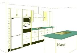 kitchen plans with islands open kitchen floor plans with island kitchen awesome open floor plan