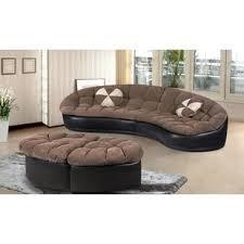 curved sectional sofas curved sectional sofas you ll love wayfair