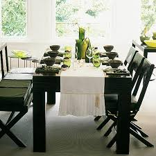 modern table settings elegant modern dining table setting ideas contemporary room at