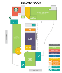 Student Center Floor Plan by Uab Student Affairs Hill Student Center Building Map