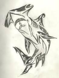 tribal shark by yoshio25 on deviantart