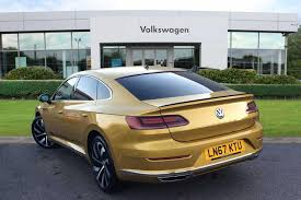 volkswagen arteon rear used 2017 volkswagen arteon 2 0 tsi r line 4motion 280ps dsg for