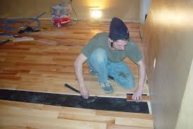 hardwood floor installation by brad bishop flooring york and