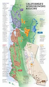 california map regions california wine map california mappery