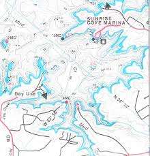 lake lanier map lake lanier south recreation fishing guide map alpharetta