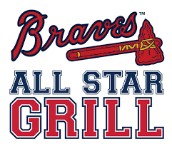 Atlanta Braves Parking Map by Braves All Star Grill Downtown Atlanta Ga