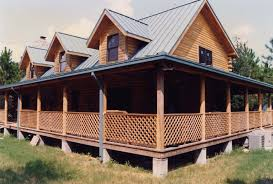 49 log home plans with porches log cabin home with wrap around