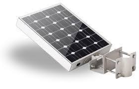Solar Panels For Lights - solar parking lot lighting self contained