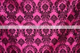 Purple Aisle Runner Flocking Damask Taffeta Aisle Runner Pink Black Prestige