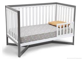 Dexbaby Safe Sleeper Convertible Crib Bed Rail White by Toddler Crib Side Rail Cribs Decoration