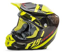 motocross helmet rockstar fly racing f2 carbon fastback helmet cycle gear