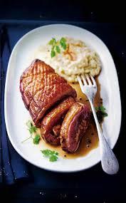 cuisiner magret de canard au four recette magret farci au foie gras sauce tonka