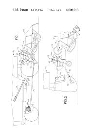 patent us4600070 modular tiller hitch for a lawn and garden