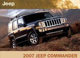 2007 jeep commander overland navigation system