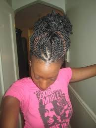 nubian hair long single plaits with shaved hair on sides 51 kinky twist braids hairstyles with pictures beautified designs