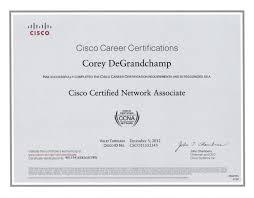 Sample Resume For Ccna Certified Ccna Resume