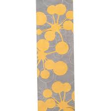 Yellow And Grey Runner Rug Yellow And Grey Runner Rug Chene Interiors