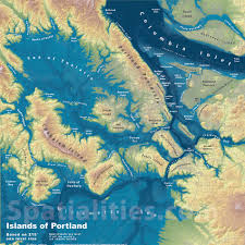 Maps Portland by Islands Of Portland Spatialities