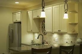 Kitchen Travertine Backsplash Cmh Builders Antique White Cabinets With