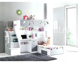 chambre ado fille mezzanine lit hauteur avec bureau lit mezzanine ado avec bureau et rangement