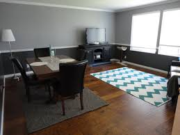 Dining Room Wainscoting Pictures by Flooring Exciting Gray Walmart Rug With Cozy Dark Pergo Flooring