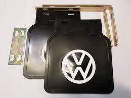 german volkswagen logo mud flaps with vw emblem bug eyed