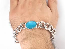 stone silver bracelet images Buy online salman khan real feroza stone silver bracelet jpg