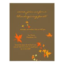 thanksgiving invitations zazzle
