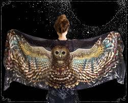 halloween usa bay city mi halloween owl scarf silk scarf halloween shawl pashmina