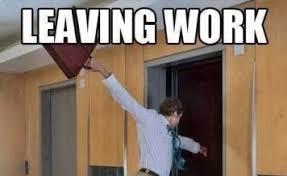 Leaving Work On Friday Meme - meme boomsbeat