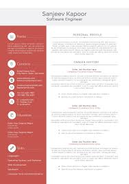 Best Resume Generator Software amazing resume templates