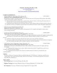 rn resume templates resume of a registered registered rn resume sle