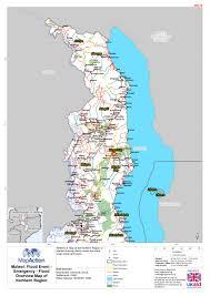 Malawi Map Mapaction Organisations Mapaction
