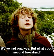 Second Breakfast Meme - the civic beat reader 盪 but what about second breakfast a look at