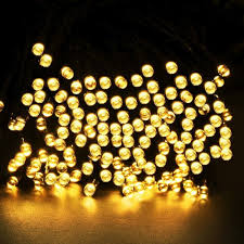 Solar White Christmas Lights by Christmas Lights Gold Picture More Detailed Picture About