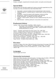 Special Skills On A Resume Download What A Resume Should Look Like Haadyaooverbayresort Com