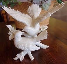 dove cake topper lenox wedding promises dove doves bird flowers ivory cake topper