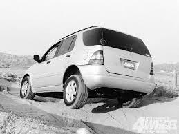 1999 mercedes ml 430 1999 4x4 of the year mercedes ml430 4 wheel road