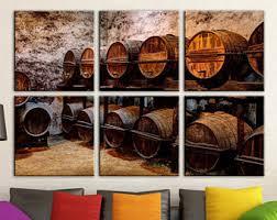 Wine Barrel Home Decor Wine Barrel Art Etsy